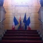 Drapeau gay mairie 3ème.