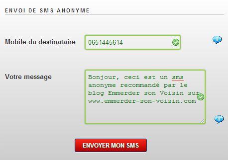 Comment Pourrir Un Numero De Portable Avec L Envoi De Sms Anonymes