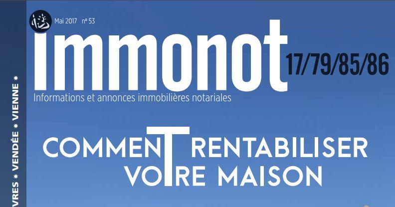Immonot, la revue des notaires, astuces de voisinages.