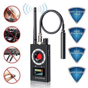 Détecteur de micros et caméras espions.